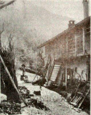 Maso Brocher a Marter in localita Brustoladi dove Michelangelo Prati fu ucciso il 13 dicembre 1915